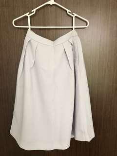 Uniqlo grey skirt
