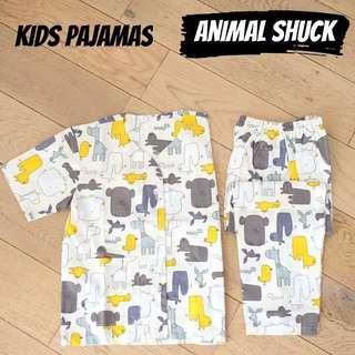 Animal shuck pajamas