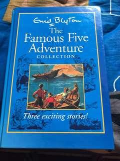 🚚 Famous five adventure collection