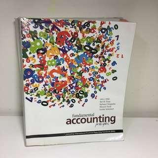 會計教科書/fundamental accounting principles IFRS /英文原文書本