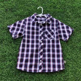 🚚 Mothercare Checkered Tartan Shirt 7-8yrs