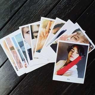 V - Kim Taehyung selca polaroid