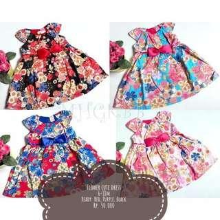 Cute Flower Dress
