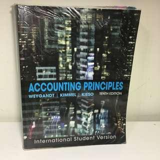 Accounting principles tenth edition 10版 WEYGANT/KIMMEL/KIESO 英文原文書/會計教科書