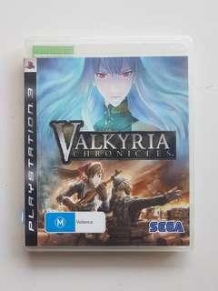 Ps3 Valkyria Chronicles Game