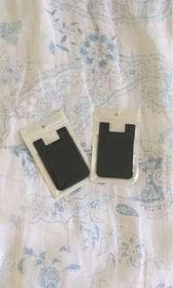 2x Stick on Card Holder