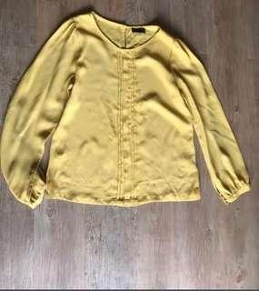 Seed mustard yellow blouse