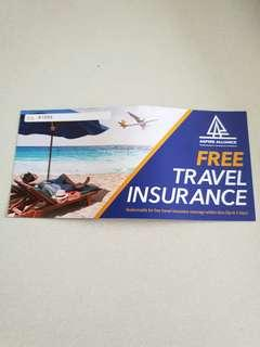 🚚 Travel Insurance Voucher for 1 pax