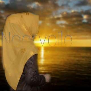 Hijab syari segiempat Katun Istanbul