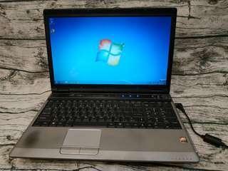 MSI EX620 16吋 雙核心 2.0GHz/4G/320G 超順暢 商務 文書機 筆電 筆記型電腦 二手