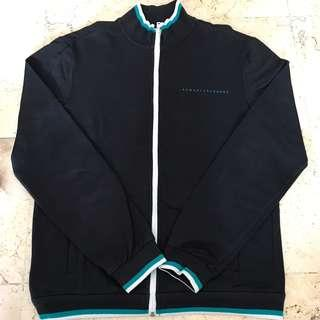 Jaket Branded Armani Exchange Hitam Original Sporty Casual