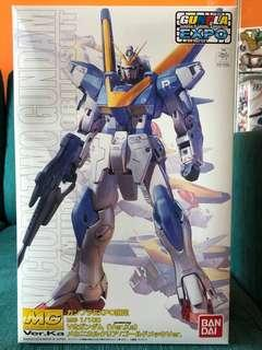 MG Victory Two Ver.Ka Mechanical Clear Gold Plated Expo set