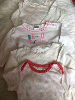 4pcs onesie bundle