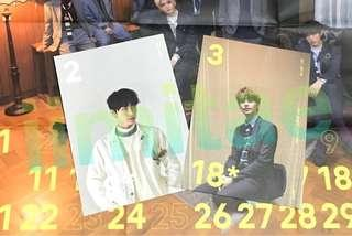 NCT SG 2018 Pocket Calendar/ Photocard