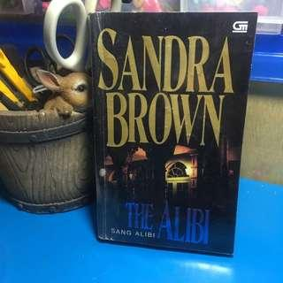BUKU NOVEL THE ALIBI SANDRA BROWN