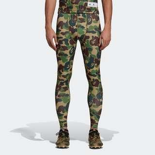 c013f7478c BAPE X ADIDAS SB TIGHTS Size S or L