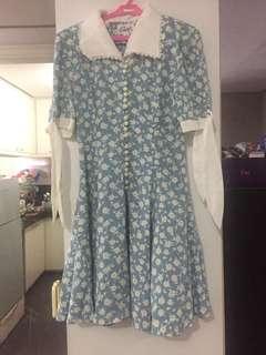 Floral Pearl Dress