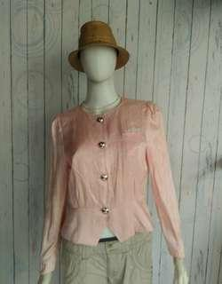 PEACH ELEGANT BLOUSE