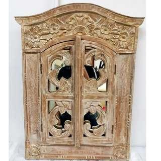 古董 古典 開合 枱頭 鏡