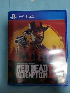 ps4 rdr2 Red dead redemption 2 有地圖 無花,可換 bio hazard 2 , $300, 荃灣交收或順豐。