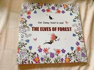 The Eleves of the Forest Adult Coloring Book