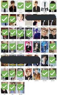 WTB All Baekhyun Album PC/Photocard
