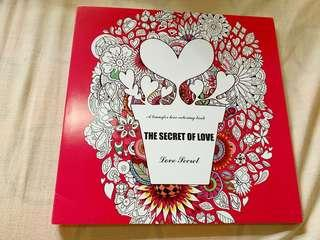 The Secret of Love Adult Coloring Book