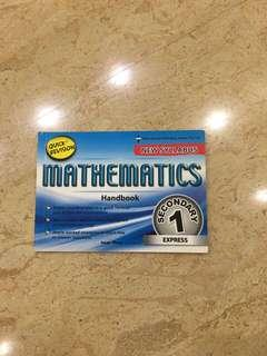 Secondary 1 Mathematics Guidebook