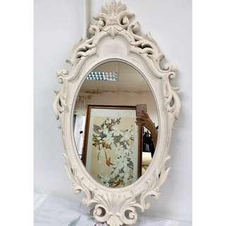 古董 古典 枱頭 鏡