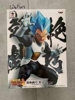 金證 日本直送 龍珠超 比達 籃頭髮 超絶戲巧系列 super dragonball heros 模型 figure