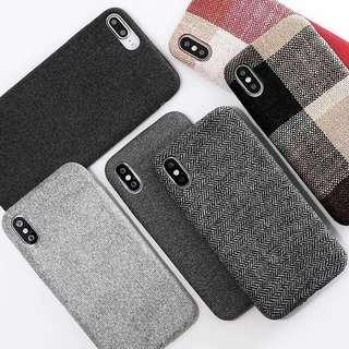 🚚 [iPhone XR/XS/XS Max/X/8+] PO Soft Texture Shockproof Case