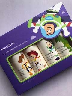 🚚 Innisfree My perfumed Body miniature set body wash body lotion toy story