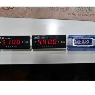 USB voltage current meter 電壓電流計