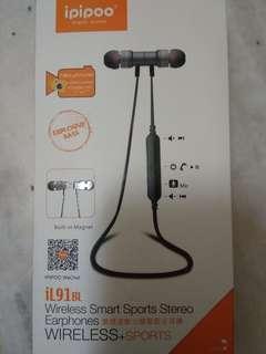 IPIPOO Wireless Smart Sport Stereo Earphones ori price 70 #MMAR18