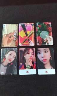 Wts twice yes or yes photo cards