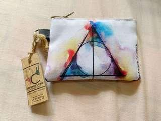 Harry Potter Deathly Hallows coin pouch