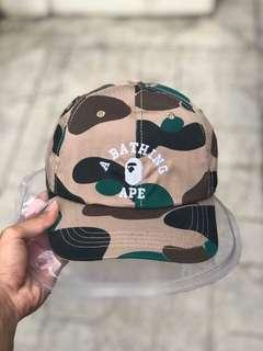 ‼️BAPE CAMOUFLAGE BASEBALL CAP‼️