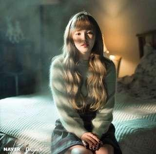 Ohkoreabeauty 粉綠色冷衫 okb