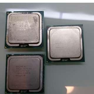 Intel Core 2 Duo E2140 E4300 E6300