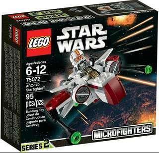 全新 box set lego 75072 star wars 星球大戰 starfighter