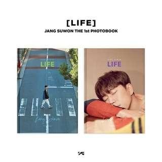 🚚 [Photobook&DVD] SECHSKIES : JANG SUWON - [LIFE] JANG SUWON THE 1st PHOTOBOOK(random ver)