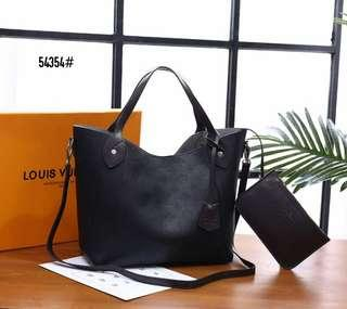 LV Premium,Original Leather/Kulit Asli 🍀 New Ready Stock 🍀  LV Louis Vuittons Hina Mahina Bag,Kirim dari Batam