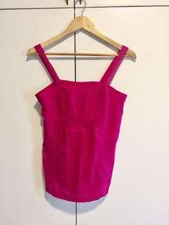 Old Navy Cotton Spag in Fuschia