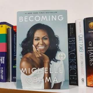 Becoming by. Michelle Obama
