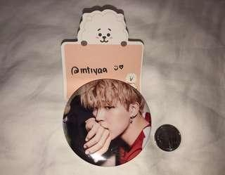 BTS Jimin Big Button Pin