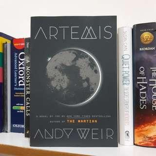 Artemis by. Andy Weir
