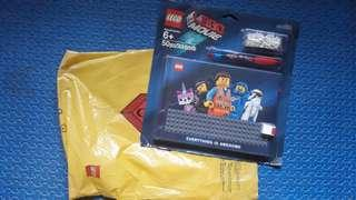 Lego Movie Notebook, Pen and Blocks