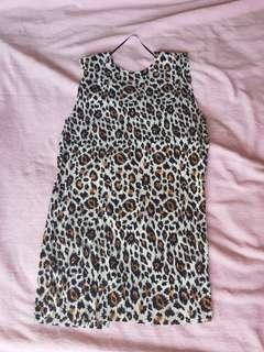 Topshop backless top