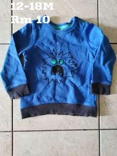 Boy shirt 12-18M