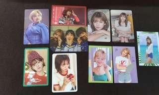 Wts twice jeongyeon photo cards